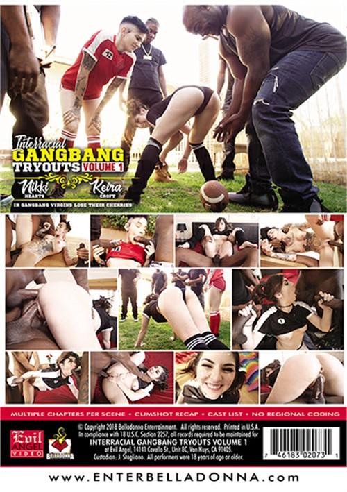 Межрасовые Пробы В Групповухе Часть 1 / Interracial Gangbang Tryouts Volume 1 (2018) HD 720p