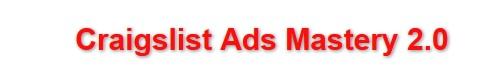 Craigslist Ad Mastery 2.0