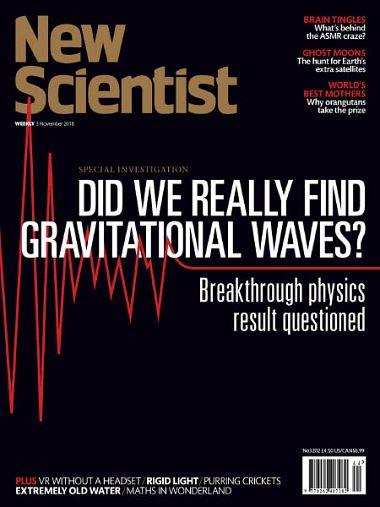 New Scientist International Edition – 3 November 2018