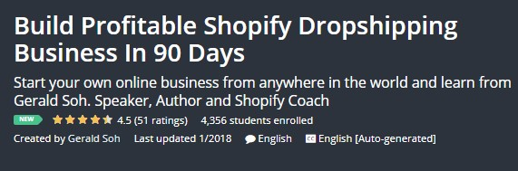 Build Profitable Shopify Dropshipping Business In 90 Days