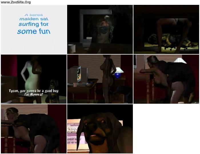 4f91d9951496444 - Dog Girl Mount 013 - ZooSex Tube Amateur