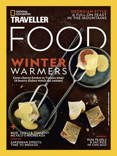 National Geographic Traveller UK – Food Issue 3 2018