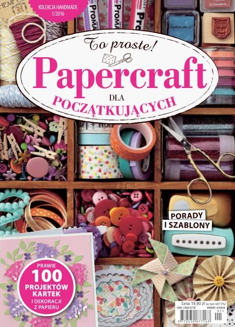 Papercraft Dla Początkujących 2016