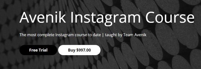 Avenik Academy - Avenik Instagram Course
