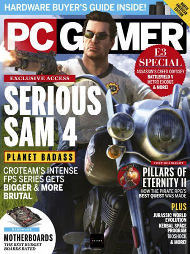 PC Gamer USA – September 2018