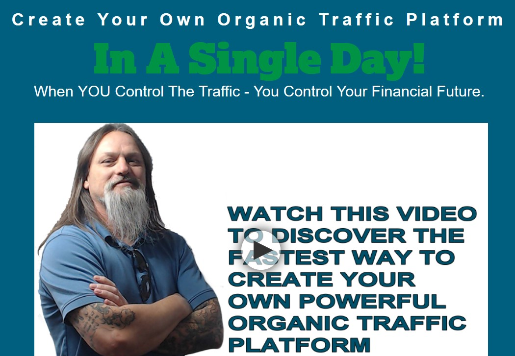 Cliff Carrigan's Organic Traffic Platform DEVASTATOR EDITION