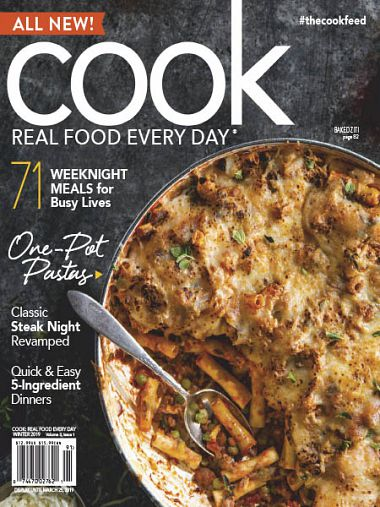 Cook: Real Food Every Day – Winter 2019
