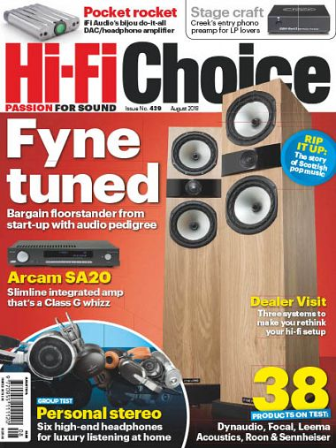 Hi-Fi Choice – August 2018