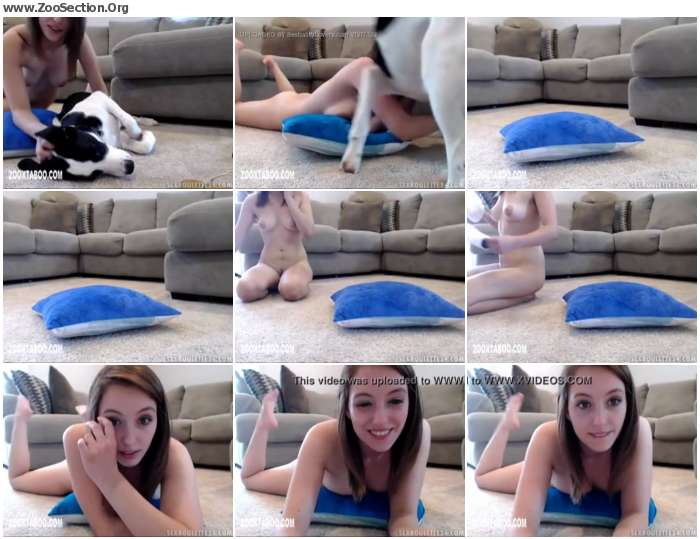 9dc3091012948924 - Webcam Pretty Girl With Dog / Stickam ZooSex