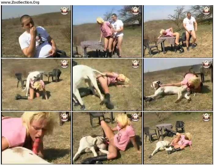 3a13511012377734 - Farmcum - Jessies Outdoor Dog Fuck Cumshot / AnimalSex Video