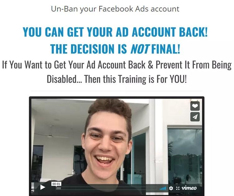 Dan Henry - Get Account Back Webinar