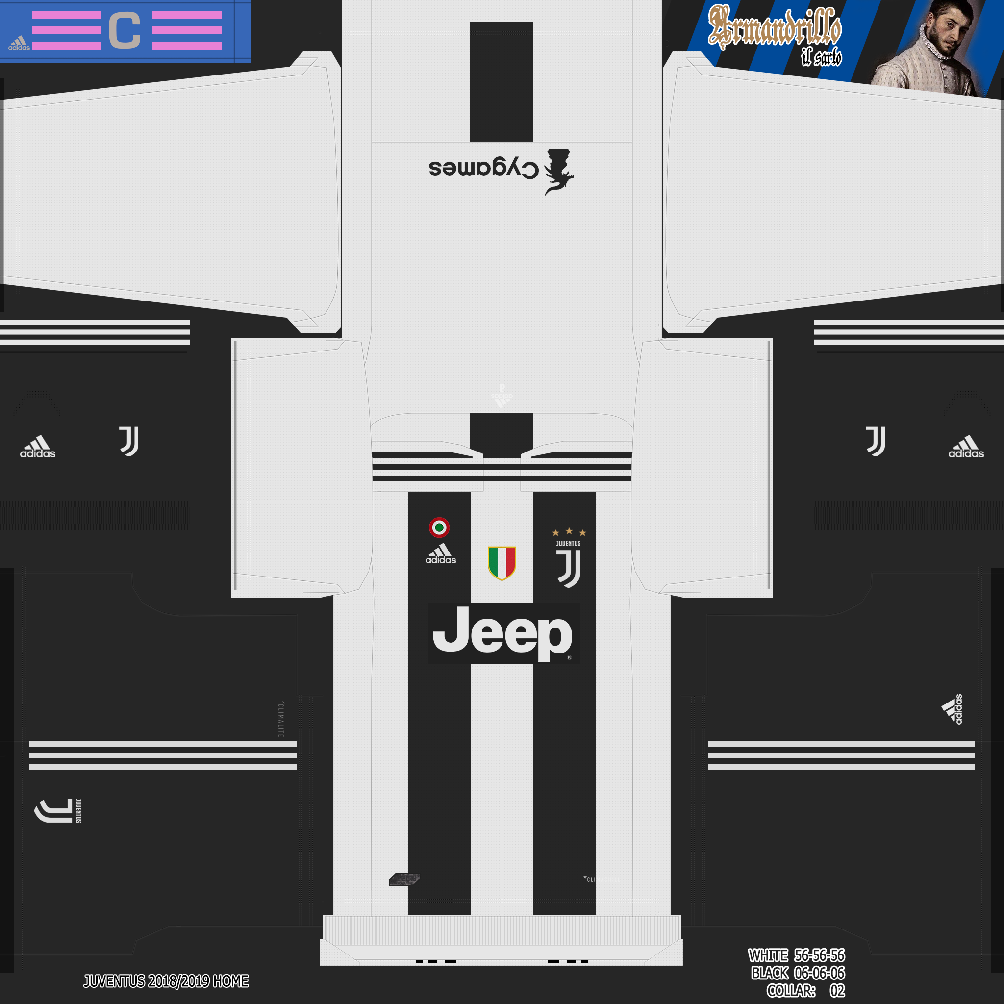 Kits - Juventus FC 2018/19 | PESTeam it Forum