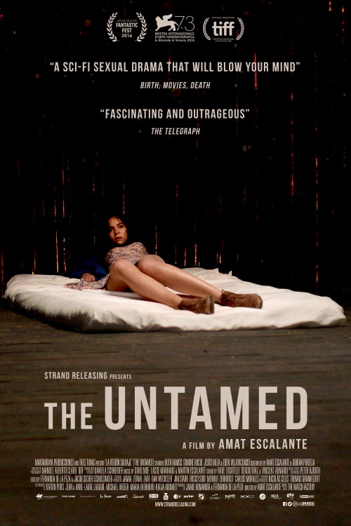 The untamed 2016 bluray 720p x264 750mb ganool scene release a couple in a troubled marriage locate a meteorite initiating an encounter with a mysterious creature their lives are turned upside down by the discovery stopboris Images