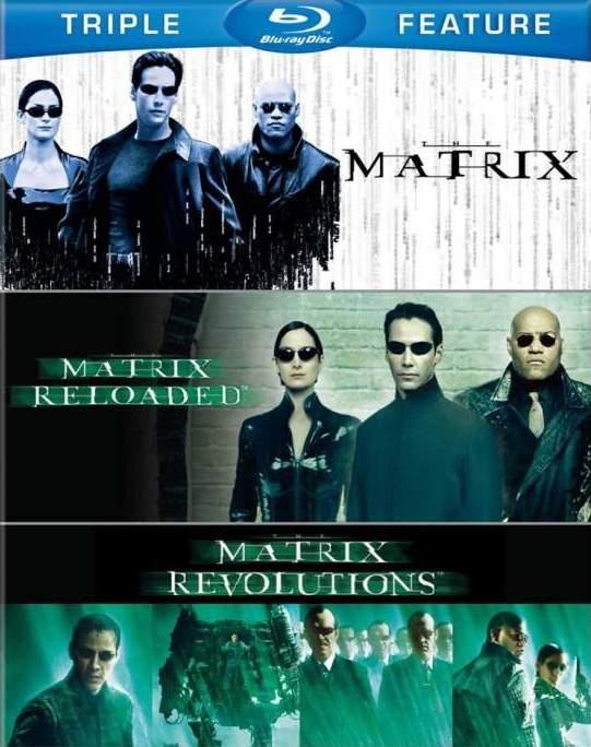 The Matrix trilogy 1999-2003 BDRip 1080p TrueHD extras-HighCode