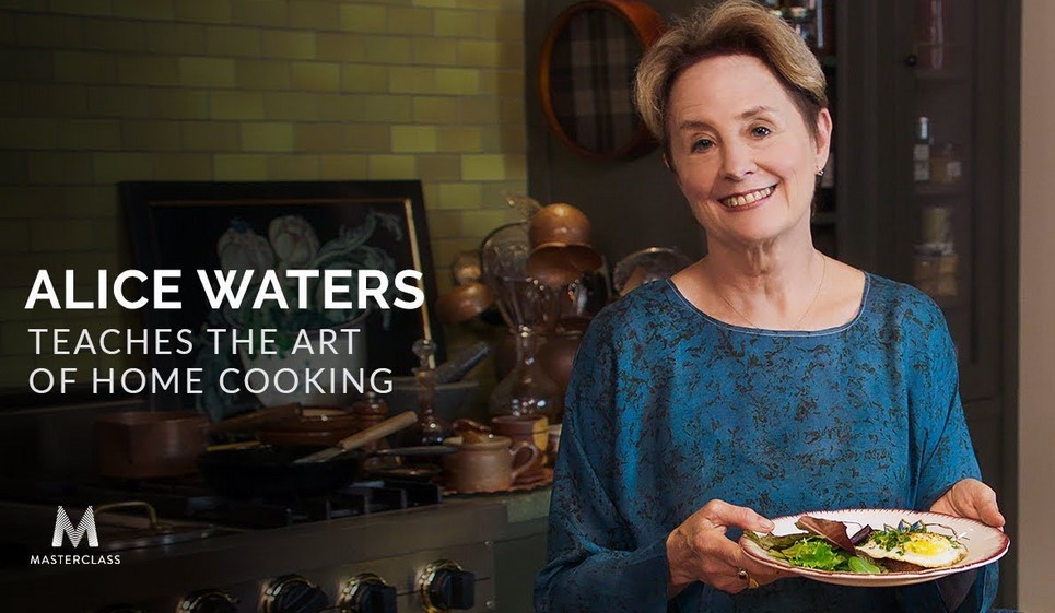 Masterclass - Alice Waters Teaches the Art of Home Cooking(2018)