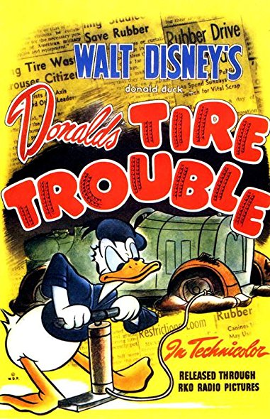Donald's Tire Trouble 1943 DVDRip x264-HANDJOB