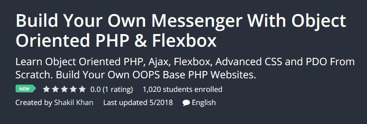 Build Your Own Messenger With Object Oriented PHP & Flexbox