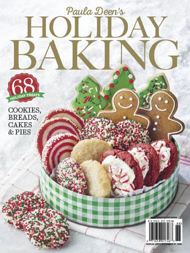 PaulaDeen Holiday Baking 2018