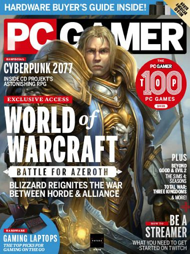 PC Gamer USA – October 2018