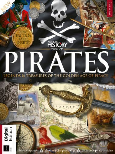 All About History – Book of Pirates Second Edition 2018