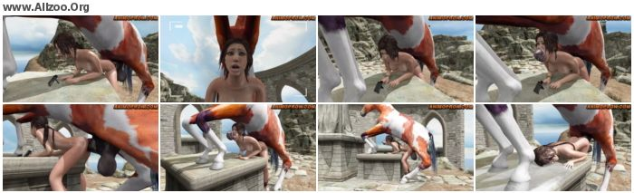 864cdc673249943 - Cartoon Zoo - Lara With Horse 2 - All The Way Through [Bonus] 720p - Animated Animal Porn