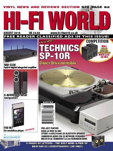 Hi-Fi World – August 2018