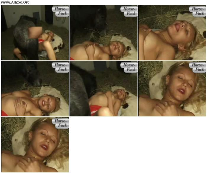 df55fa951510604 - Horse Fucks Girl Missionary - HomeMade Private ZooSex Video