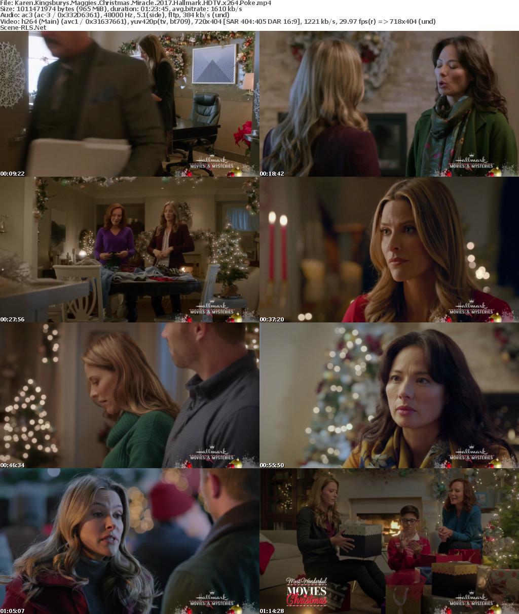 Maggies Christmas Miracle.Karen Kingsburys Maggies Christmas Miracle 2017 Hallmark