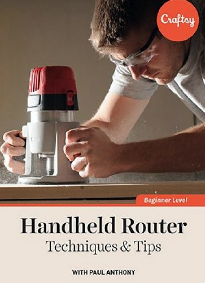 Handheld Router Techniques & Tips (TTC Craftsy Video)