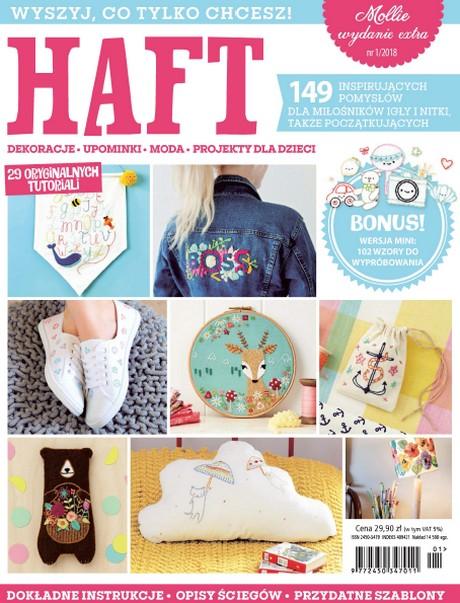 Haft - 149 Inspirujących Pomysłów Dla Miłośników Igły i Nitki.