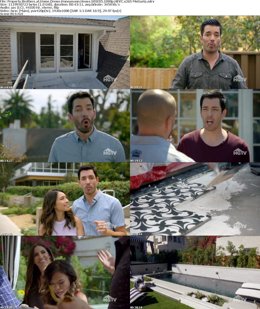 Property Brothers at Home Drews Honeymoon House S01E05 1080p