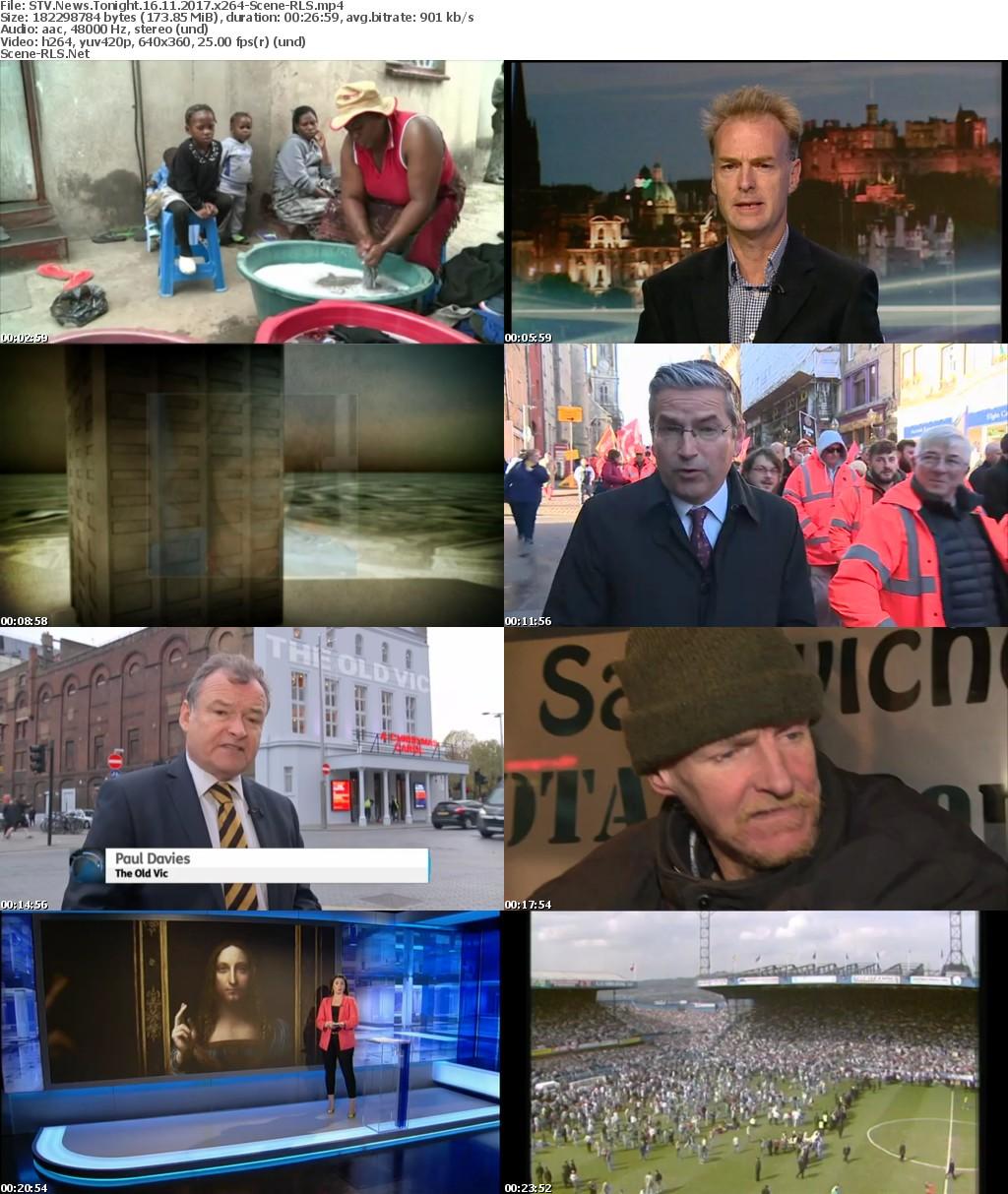 STV News Tonight 16 11 2017 x264-Scene-RLS - Scene Release