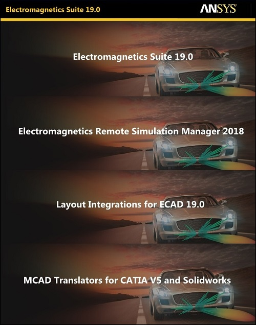 ANSYS Electronics v19.0 Suite Win64 ISO-SSQ