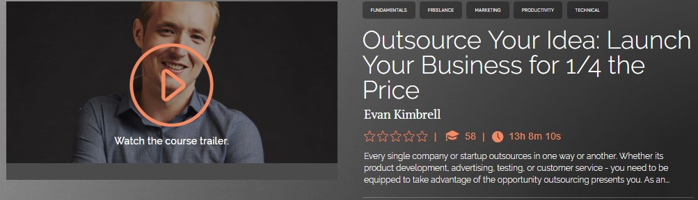 Outsource Your Idea: Launch Your Business for 1/4 the Price - Evan Kimbrell(fixed)