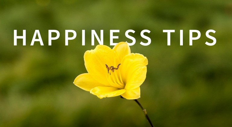 Happiness Tips Weekly - Chris Croft