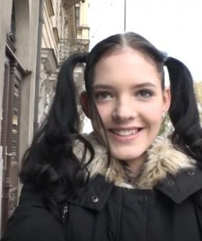 Anie Darling - Adorable schoolgirl Anie Darling enjoys sex after massage (2017) 720p