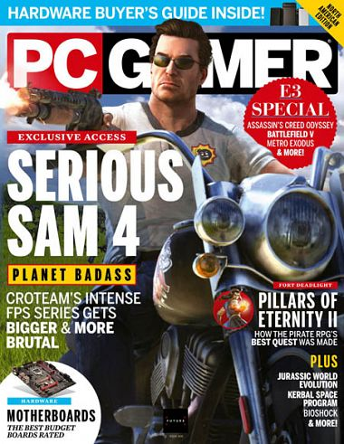 PC Gamer UK – September 2018