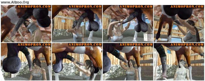 c294e0673253333 - Cartoon Zoo - Laras Horse Blowjob - Animated Animal Porn