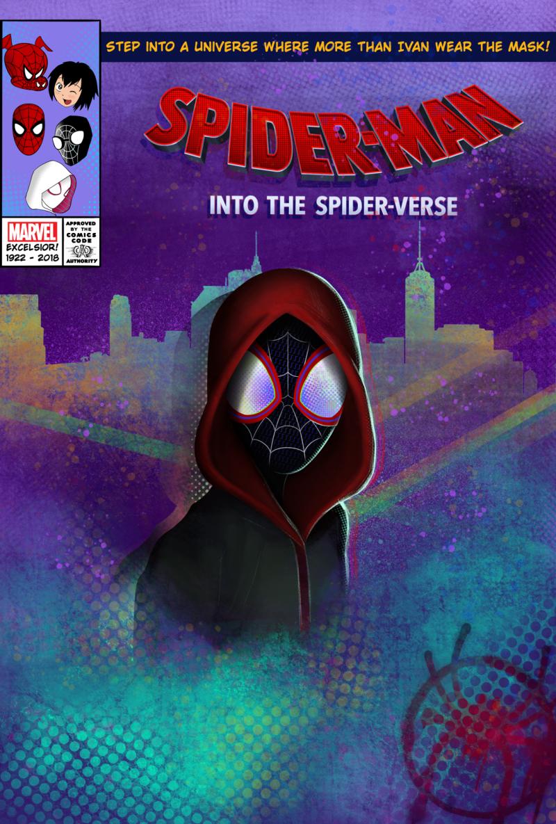 Spider-Man Into the Spider-Verse 2018 ViE mHD BluRay DD5.1 x264-TRiM screenshots