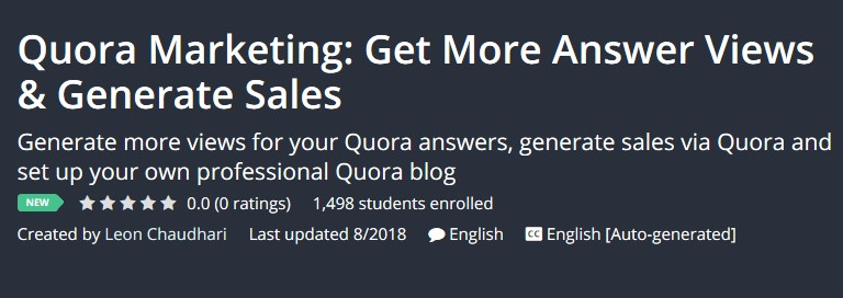 Quora Marketing: Get More Answer Views & Generate Sales