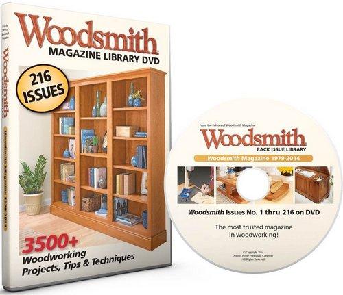 Woodsmith Magazine 1979-2014 DVD