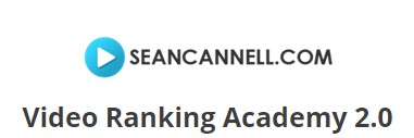 Sean Cannell - Video Ranking Academy 2.0
