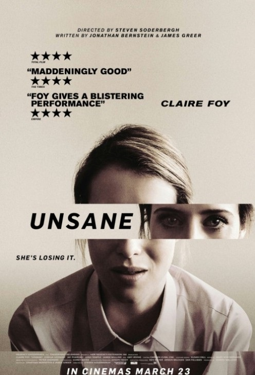 Niepoczytalna / Unsane (2018) PL.SUBBED.480p.BRRip.XViD.AC3-MORS | NAPISY PL  ~1,4 GB
