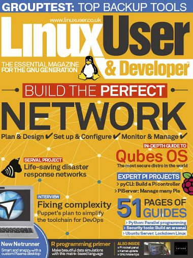 Linux User & Developer – Issue 189 2018