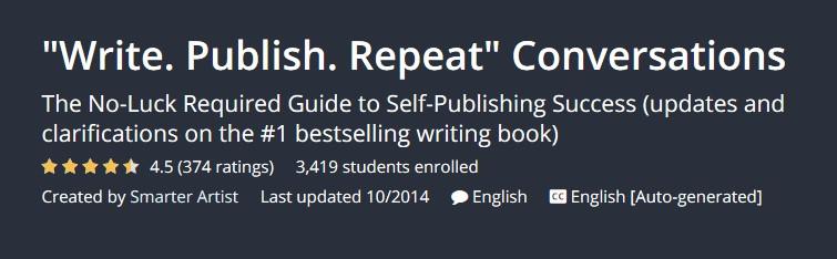 """Write. Publish. Repeat"" Conversations"
