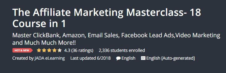 The affiliate marketing masterclass 18 course in 1 free ebooks the affiliate marketing masterclass 18 course in 1 malvernweather Gallery