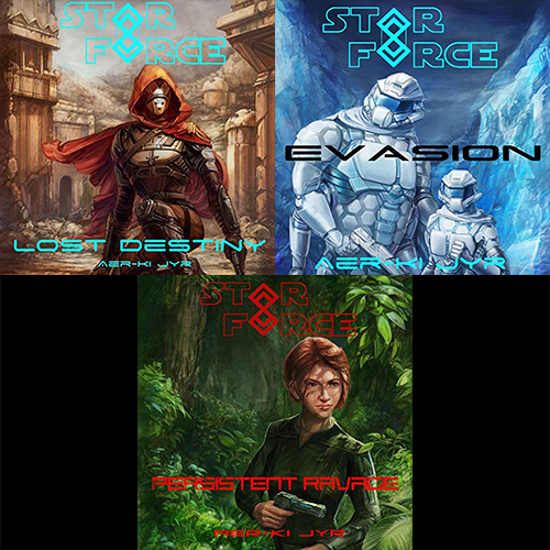 Wayward Trilogy, Books 1-3 - Aer-ki Jyr