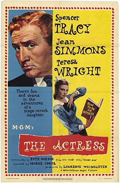 The Actress 1953 DVDRip XViD