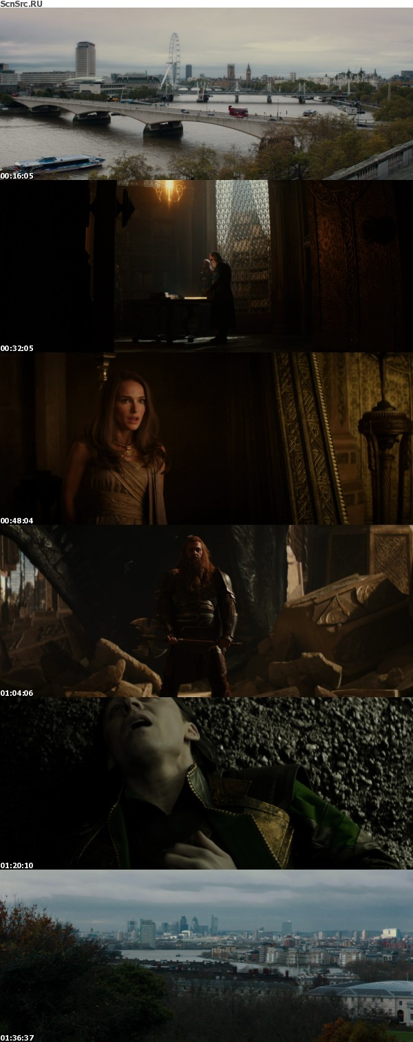 Marvel's Thor - The Dark World 2013 BluRay 10Bit 1080p Multi H265-d3g