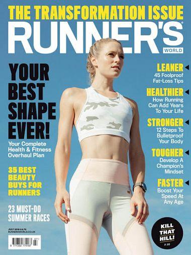 Runner's World UK – July 2018